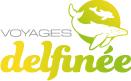 logo voyage delfinee